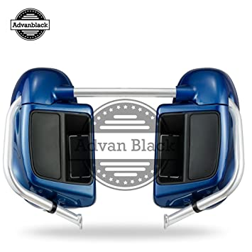 Daytona Blue Lower Vented Fairings Leg Warmers Fit for Harley Davidson Touring Road Glide Street Glide