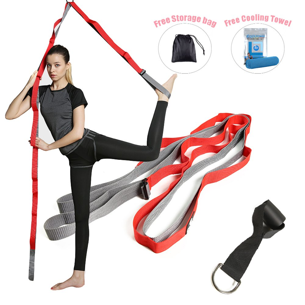 Kecho Stretch Band, to Improve Leg Stretching, Perfect Home Equipment for Ballet-Dance and Gymnastic Exercise, Great Cheer Dance Trainer Stretching Equipment
