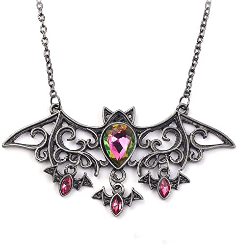 Bat Beads Necklace Costume Accessories Halloween Party Decorations