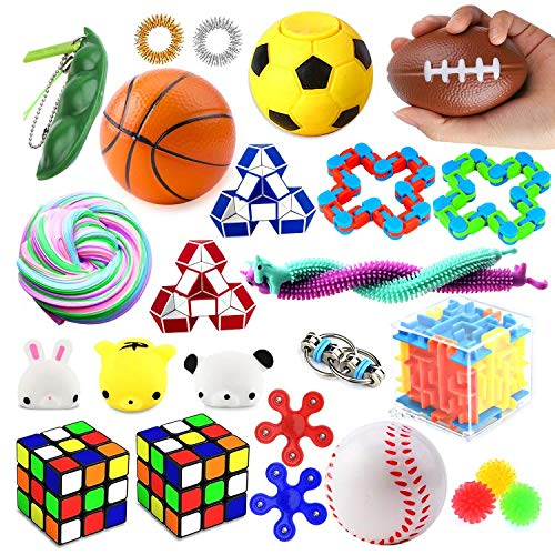 26 Pack Sensory Toys Set, Fidget Toys Pack Stress