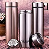 Water Bottle Kettle Filter Commercial Equipment Soakizer Termo Filtro Kettle 350ML wide mouth kettle,350ml,Sillver