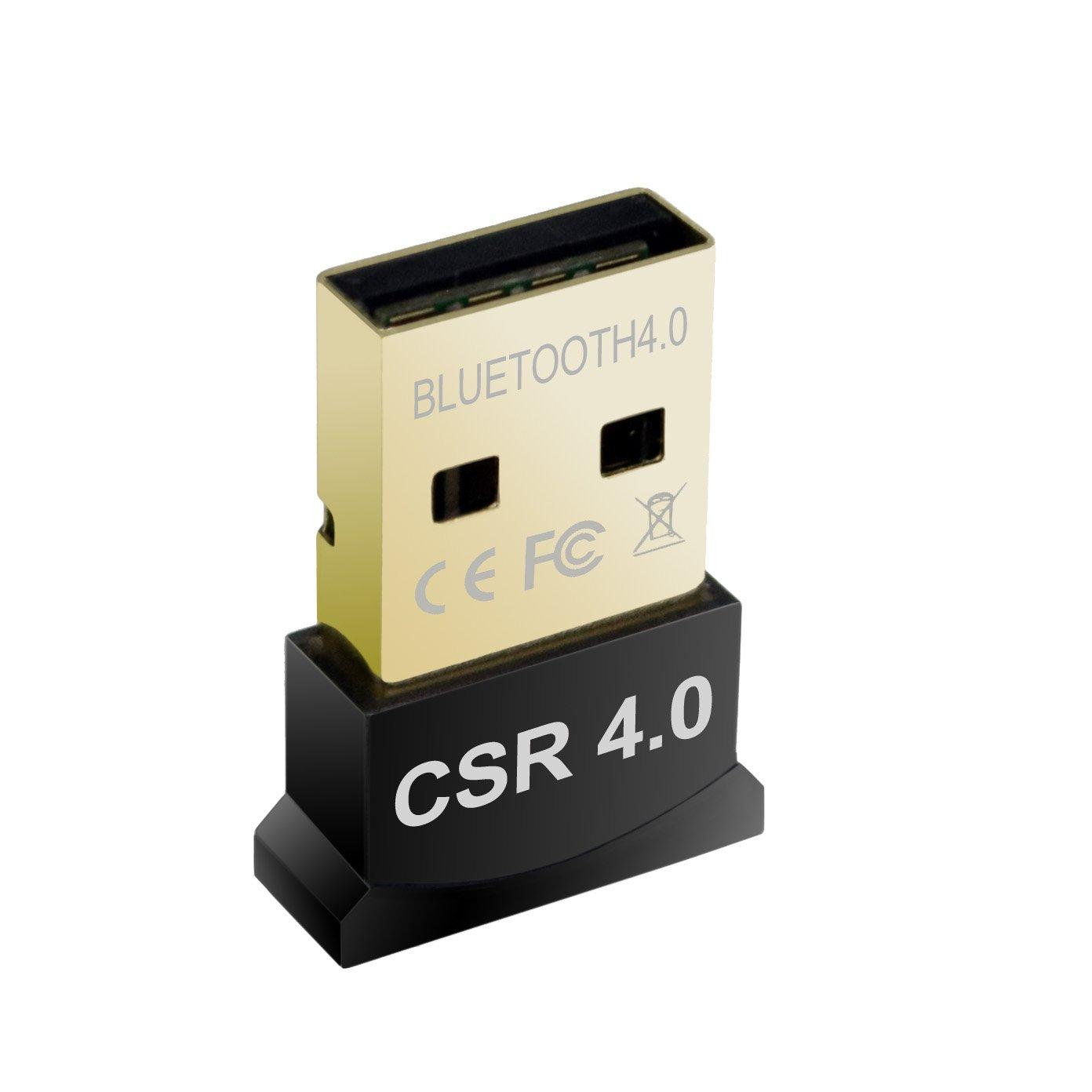 Premiertek Dual Mode Bluetooth V4.0 USB Adapter with Low Energy Technology for Notebook Desktop Raspberry Pi (BT-400_V2)