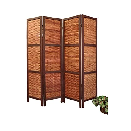 Amazoncom Saigon Woven Bamboo Room Divider Kitchen Dining
