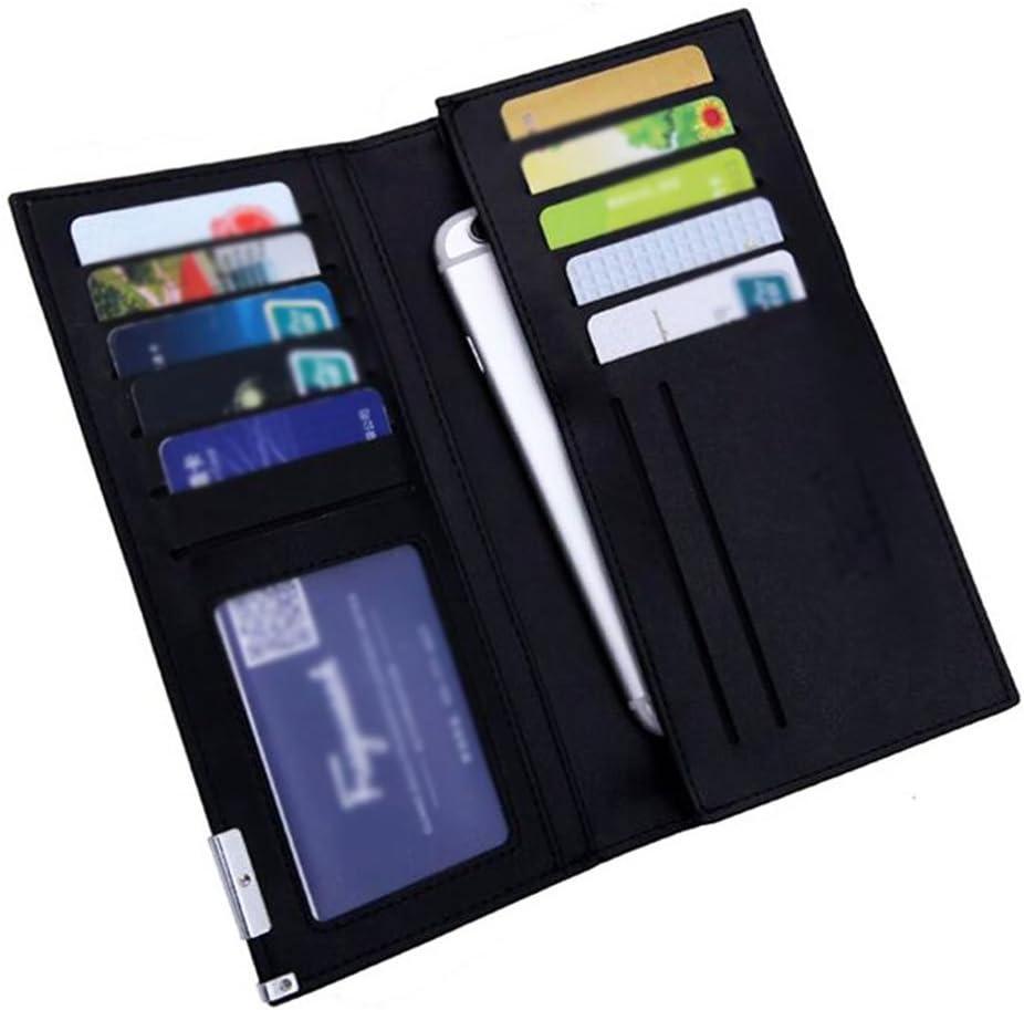 Black Temptation Herr Lange Geldb/örse Gesch/äft Decent Card Case Wallet-Golden