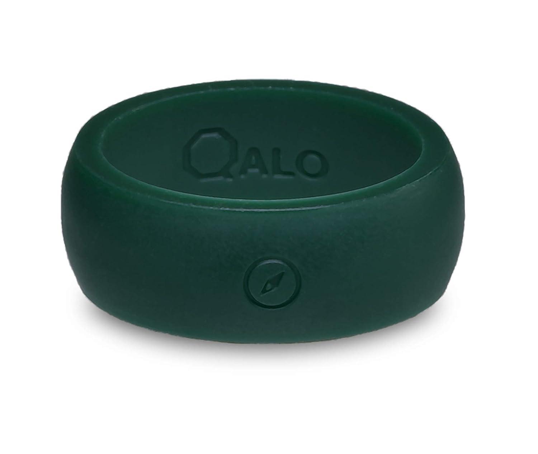 完売 QALO-メンズシリコンリング(品質は Ring、陸上競技、愛とアウトドア)は16-25のサイズを B017TJCRDM Forest Green - Green Ring Silicone Ring 8 8|Forest Green - Silicone Ring, stage21:59a3c5a1 --- arianechie.dominiotemporario.com