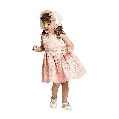 ed5b261cd3e97 Amazon.com: G&ELEGANT Baby Girls Christening Dress Pageant Party ...