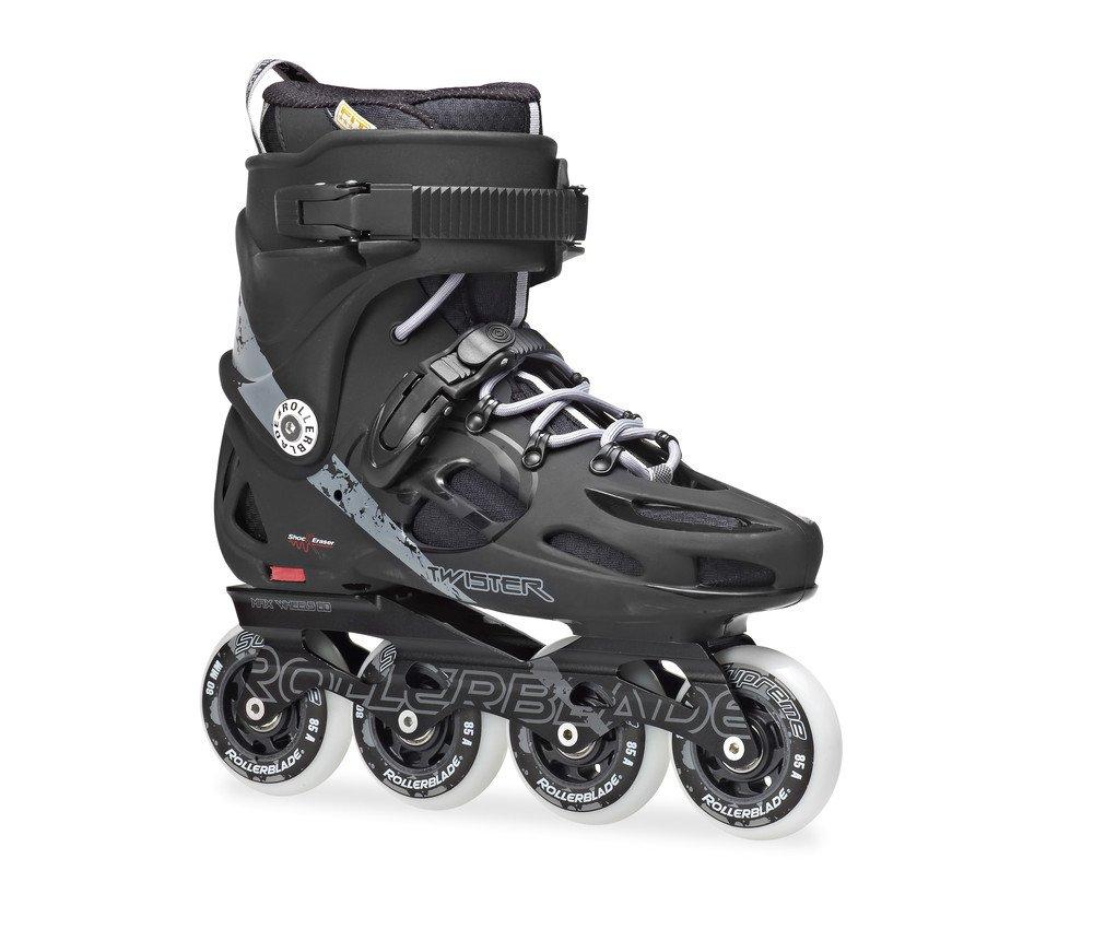 Rollerblade 2014 Twister 80 Urban Skates, Black/Gray, 8 by Rollerblade