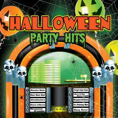DJ HALLOWEEN PARTY HITS-CD]()