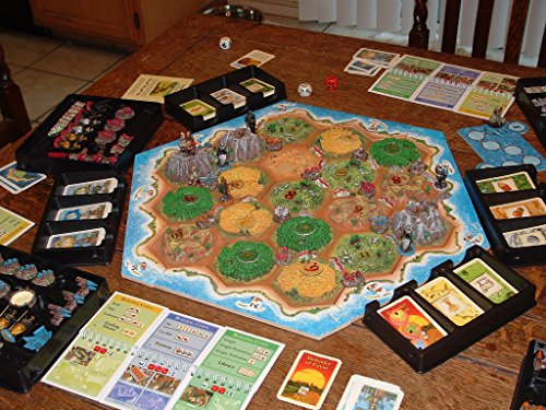 Deluxe Settlers of Catan 3D 10 Year aniversary Board game