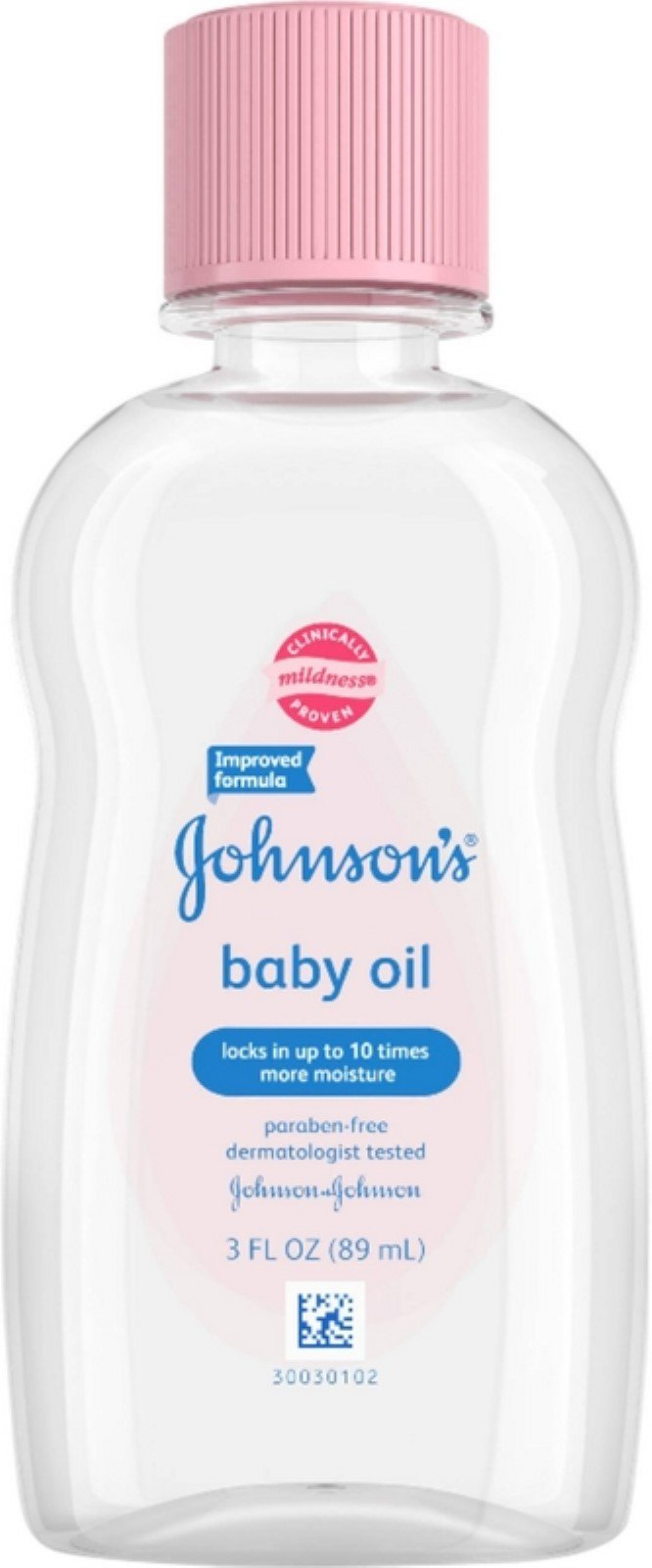 JOHNSON'S Baby Oil 3 oz ( Pack of 6) by Johnson's