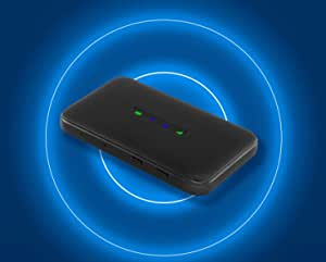 ZTE ZMAX Connect Mobile Hotspot 4G LTE | Connect Up to 10 Devices | Create WLAN Anywhere | Unlocked to Use Any Sim Card-Contact Your Carrier for Data Plan
