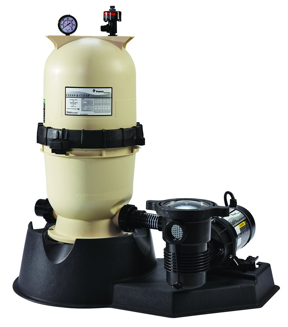 Pentair Water Pool and Spa PNCC0175OF2160 Pool Pump with Hose for Swimming Pool