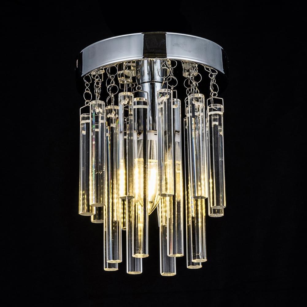 Luxury Crystal Ceiling Light Chandelier, AOKARLIA Creative Dome Lights, Modern Pendant Lamp/Aisle Lights [Energy Class A++], 15CM