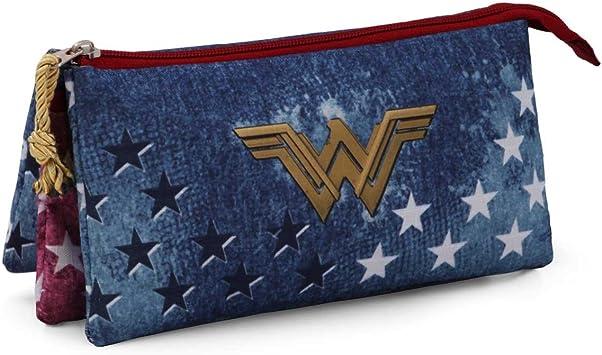 Karactermania Wonder Woman Radiant Estuches, 24 cm, Azul: Amazon.es: Equipaje
