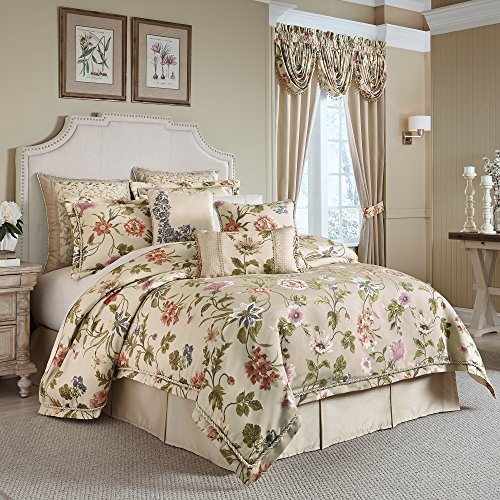 (CROSCILL Daphne WC King Comforter Set Multi 4 Piece)