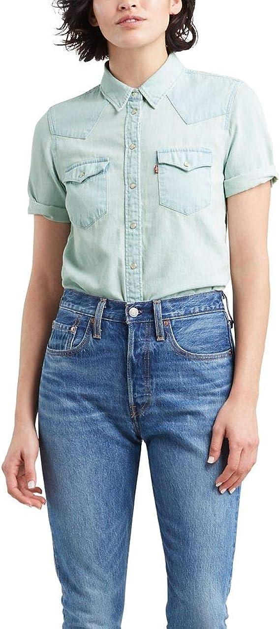 Levis Ultimate - Camiseta de manga corta para mujer - Azul ...