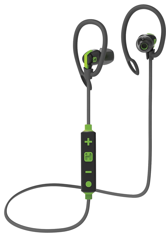 iHome - Auriculares Deportivos inalámbricos con Bluetooth, Resistentes al Agua, con micrófono y Clips Deportivos: Amazon.es: Electrónica