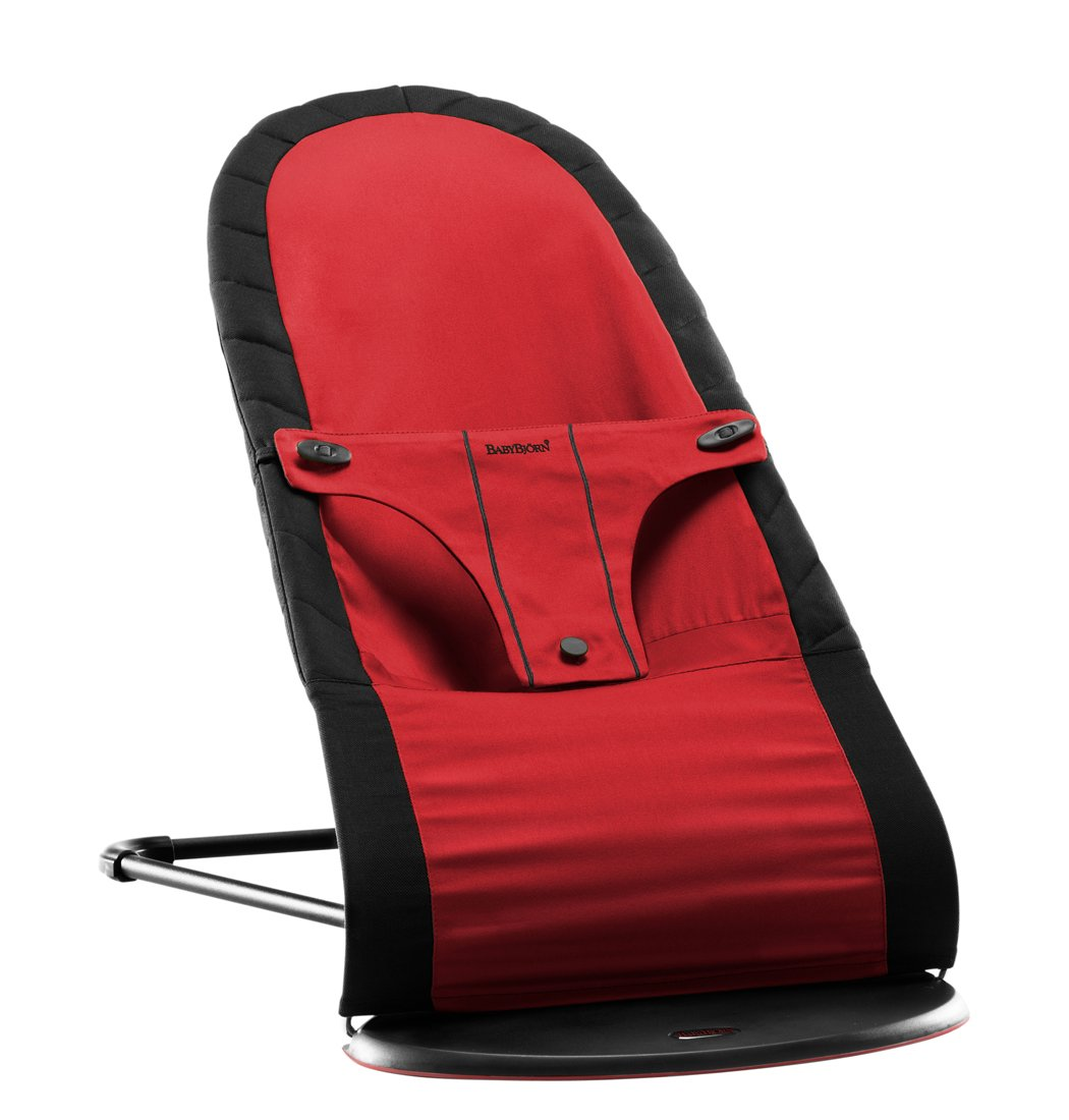 Amazon.com : Babybjorn BabySitter Balance, Black/Red (Discontinued By  Manufacturer) : Infant Bouncers And Rockers : Baby