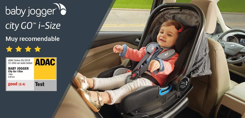 Baby Jogger City GO i-Size Silla de coche Grupo 0 con Base ISOFIX BJ2033984PACK