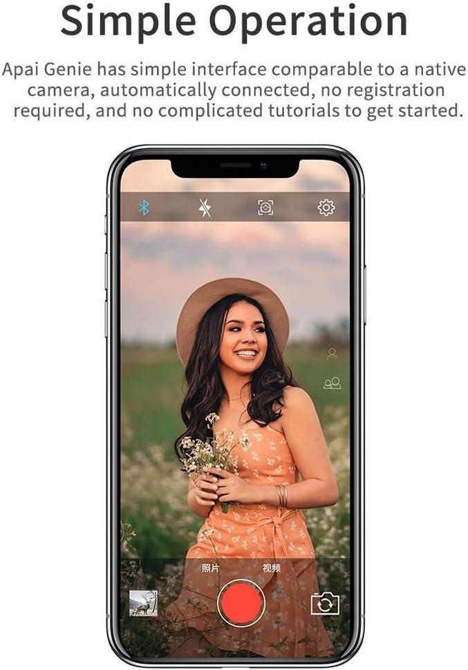 card/án inteligente estabilizador de card/án para smartphones Galapara Card/án inteligente 360 /° port/átil para auto-seguimiento c/ámara de fotos con seguimiento de los objetos de la cara