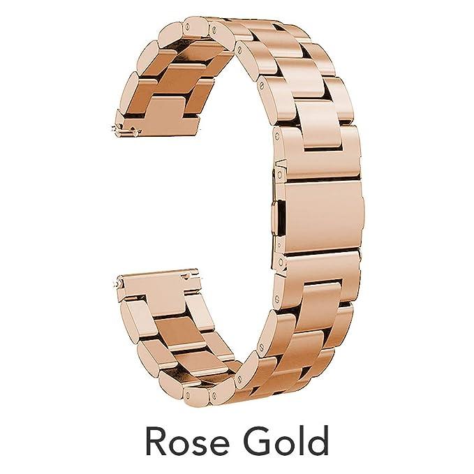 Correa de Reloj de Acero Inoxidable para Samsung Gear S2 de ...