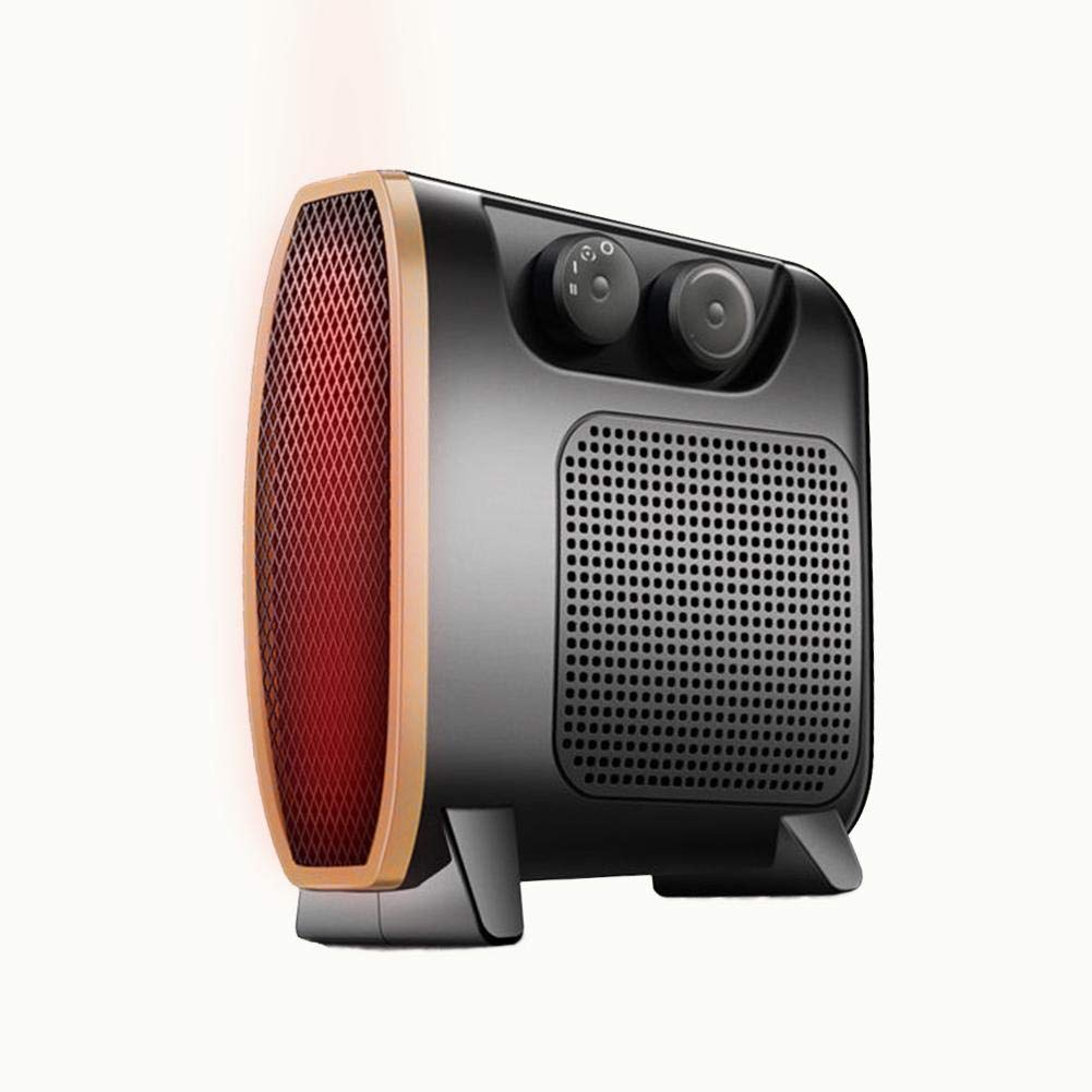 Fan Heater and Cooler, Portable Electric Fan Heaters, Adjustable Thermostat, Small Warm Air Blower, Warmer Fans for Dormitory Home Office Bedroom by S WIDEN ELECTRIC