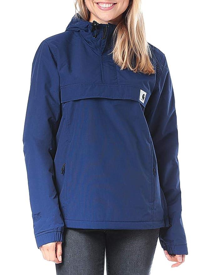 Carhartt Nimbus Pullover Woman Metro Blue
