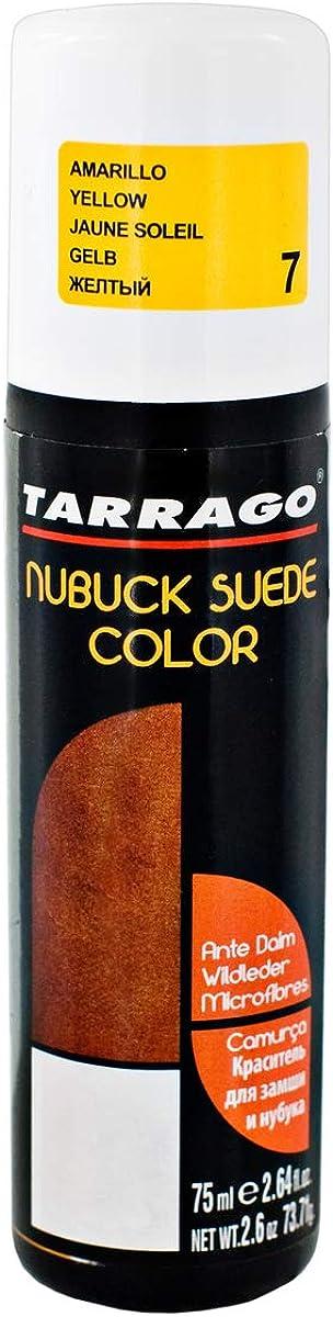 Tarrago | Nubuck Suede Color 75ml | Renovador de Color Para Zapatos de Ante y Nobuck | Resalta Los Colores Del Calzado, Nutre y Protege | Con Esponja ...