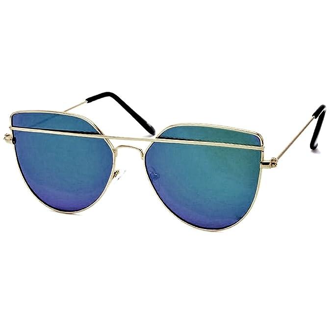 cda2d17dbc Silver Kartz Cateye Unisex Sunglasses(Wy-151