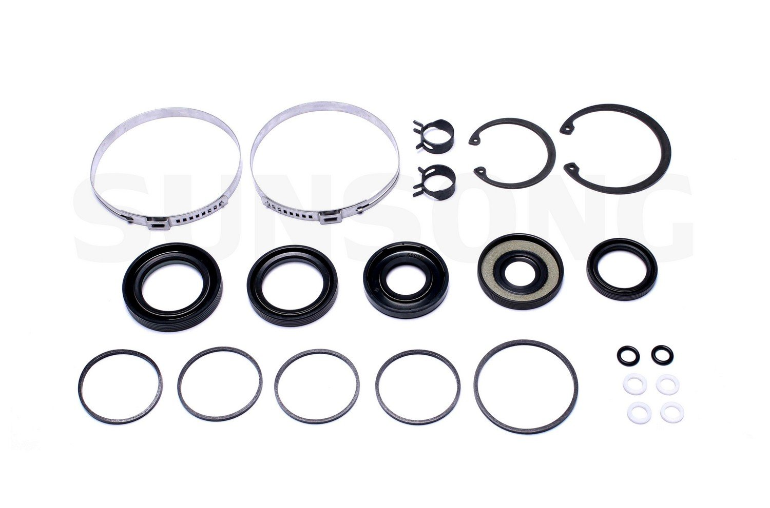 ACDelco 36-350960 Professional Steering Gear Pinion Shaft Seal Kit with Bushing Clamp and Seals