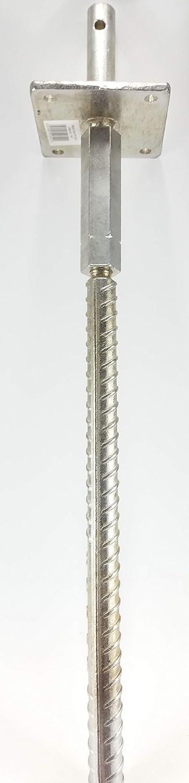 200/mm avec Info feuilles de jardin monde Verrou Berger Typ Tu Support pied de poteau /à visser type U PF hauteur: 140 P galvanis/é Largeur: 80 160/mm r/églable en hauteur et en largeur