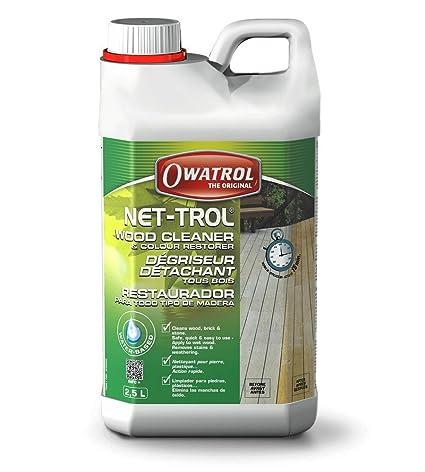 Amazon Owatrol Net Trol Wood Cleaner 1 Liter Home Improvement