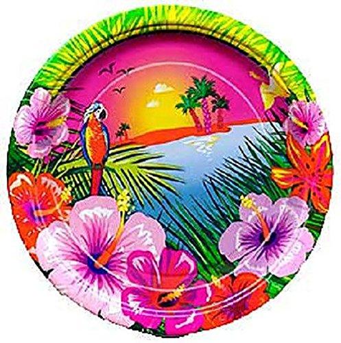 Green Flower Plates Set (Custom & Unique {9