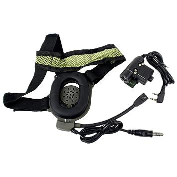 hd01 z tactical bowman elite ii u94 style 2 pin ptt amazon co uk Kenwood Deck hd01 z tactical bowman elite ii u94 style 2 pin ptt headset for kenwood radios