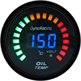 yanbirdfx Electronic Universal Oil Pressure-Oil Temp Gauge 2-Inch Sensitive Anti-Rust Car LED Digital Oil Temperature…
