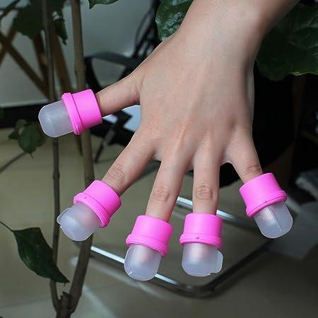 10X Usable Removedor de Remojo Soaker para Uñas Postizas Acrílico Gel UV Nuevo: Amazon.es: Salud y cuidado personal