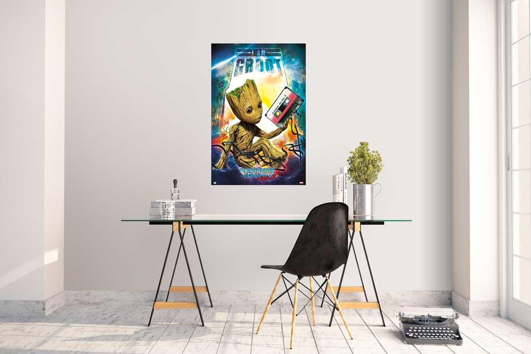 Grupo Erik editores Guardians of The Galaxy Vol 2Groot gpe5150–Poster