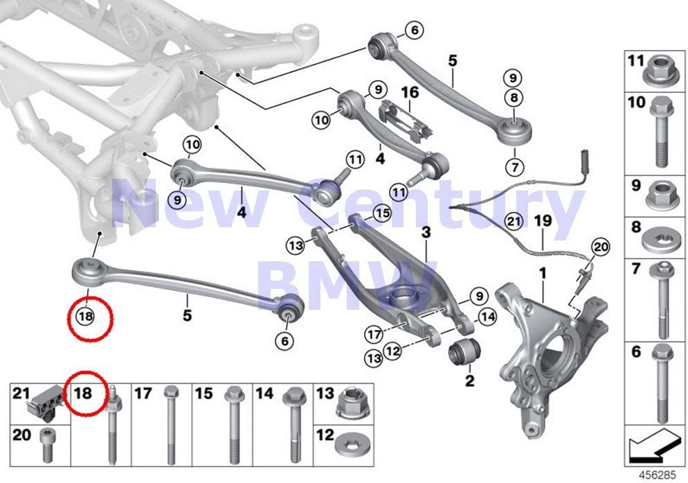M12 x 1.5 TPI Premium Locking Wheel Bolt//Nut Set BMW 3 Series E91 2005