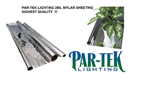 PAR-TEK LIGHTING 2ML Mylar Sheeting Film 48u0026quot; ...  sc 1 st  Amazon.com & Amazon.com : PAR-TEK LIGHTING 2ML Mylar Sheeting Film 48