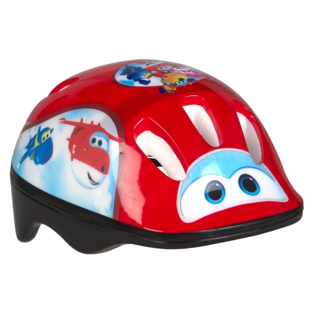 Super Wings - Casco protección para bici, patinete o monopatín (ColorBaby 77015) patinete o monopatín (ColorBaby 77015)