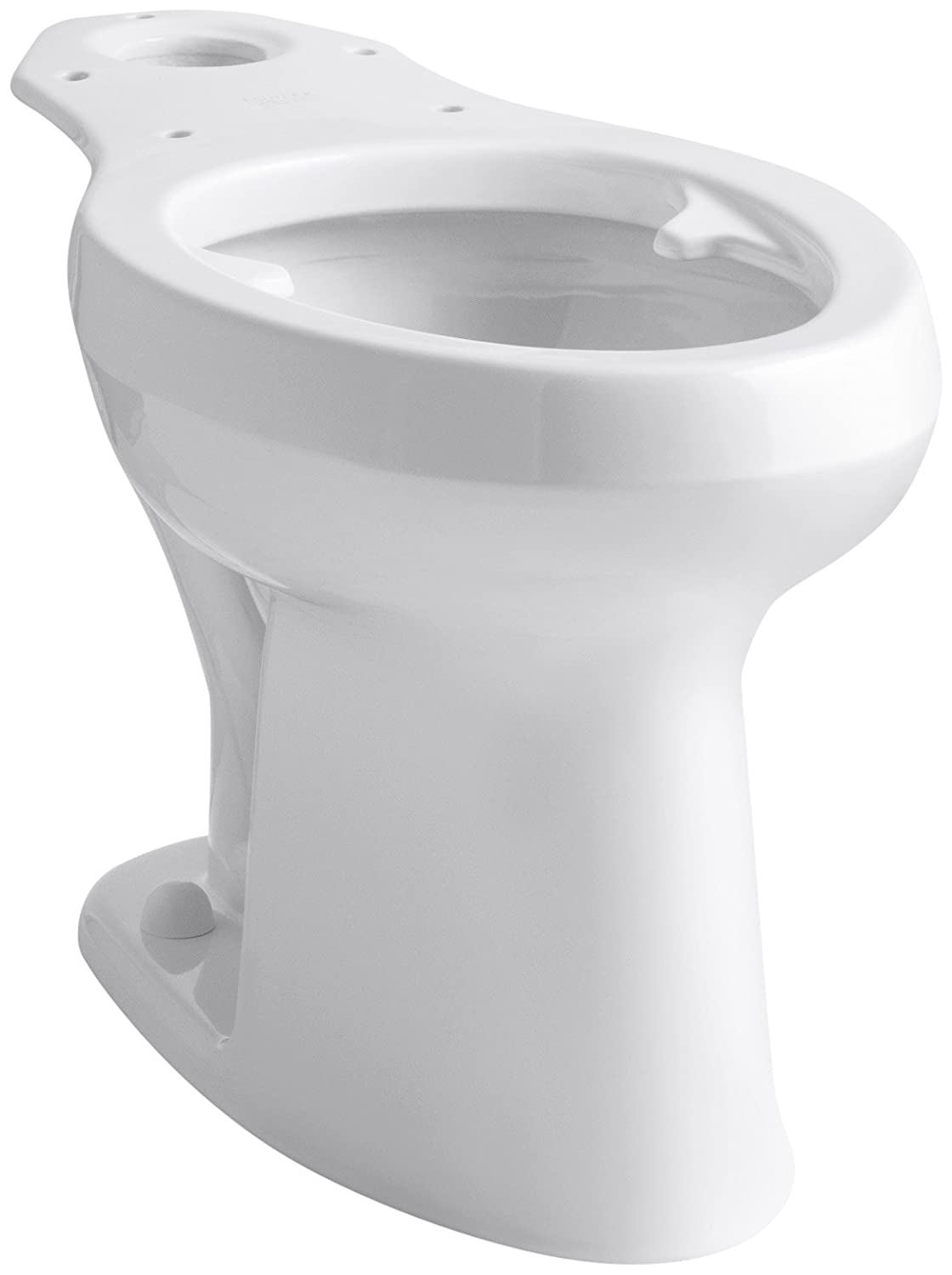 KOHLER K-4304-L-0 Highline(R) Toilet with Pressure Lite(R) Flushing Technology and Bedpan Lugs, White White