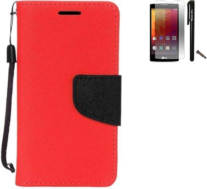 reputable site a0c1a 2f087 Amazon.com: For LG Stylo 2 Plus Case / LG Stylus 2 Plus Case PU ...