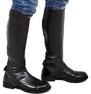 Riders Trend Full Grain Leather Gaiter -, color marrón, talla Small/17-18 Inch