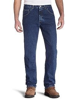 a85e2b16 Wrangler Men's Casual Denim Regular Fit Jean at Amazon Men's ...