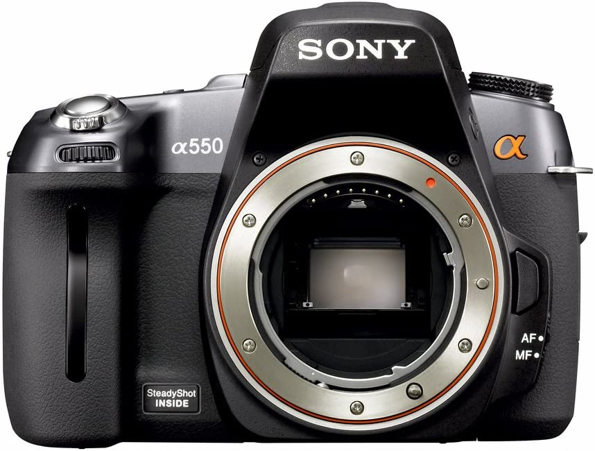 Sony D-A550 (Alpha 550) - Cámara Réflex Digital 14.2 MP: Amazon.es ...