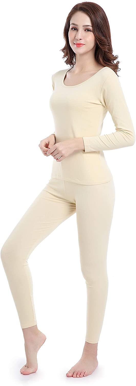 Ferrieswheel Story Set Termico Donna Termica Invernale Girocollo Base Layer Elastico Sottile Soft