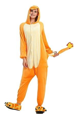 VineCrown Disfraces Pijama Animal Dinosaurio Traje Adultos Ropa de dormir Novedad Pijamas de una pieza Cosplay Carnaval Halloween Navidad