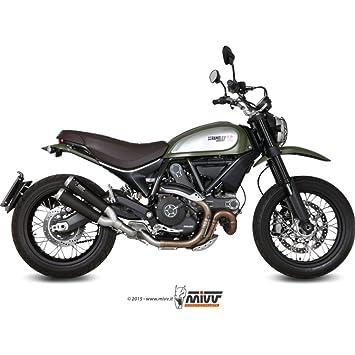 Exhaust Stainless Steel MIVV x Cone Ceramic Coating Black Ducati