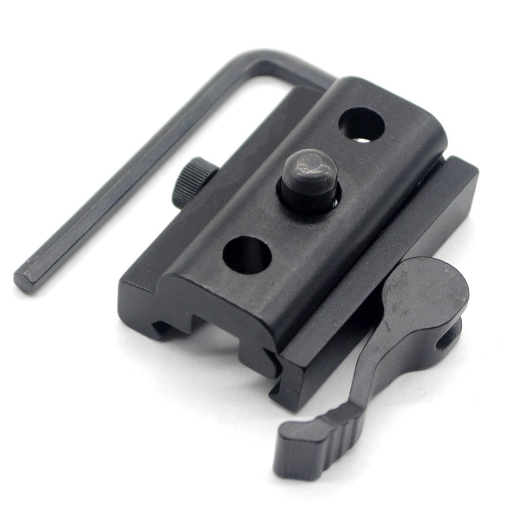TriRock Outdoor Quick Detach Cam Lock Bipod Sling Adapter for 20mm Picatinny Weaver Rails