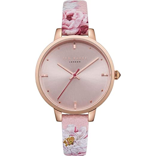 53cc02a93 Ted Baker Ladies  Strap Watch TE50005009  Amazon.co.uk  Watches
